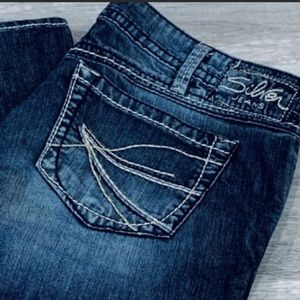 Silver Jeans Twisted Bootcut
